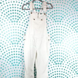 Tommy Jeans Cropped White Overall Size L